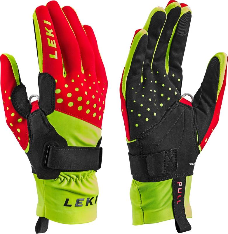 Lyže - Běžecké rukavice Leki Nordic Race Shark e57c11a465