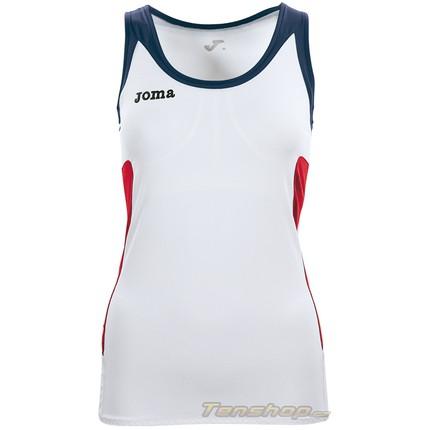 b33ea027a527 Dámské tenisové tričko Joma Open Woman Sleeveless wh-navy