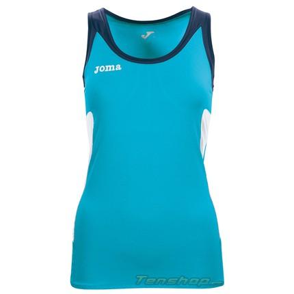Dámské tenisové tričko Joma Open Woman Sleeveless sky blue