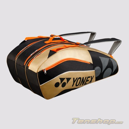 Taška na rakety Yonex 8529, black/gold