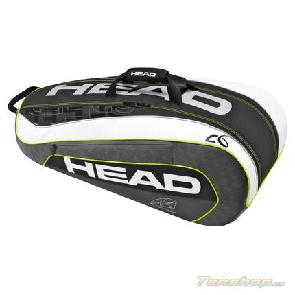 Tenisová taška Head Djokovic 9R Supercombi, 2016