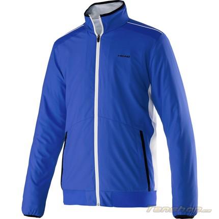 Dětská tenisová bunda Head Club Woven Jacket, blue