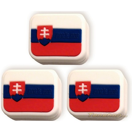 Tenisové vibrastopy Pros Pro Slovakia, 3 ks