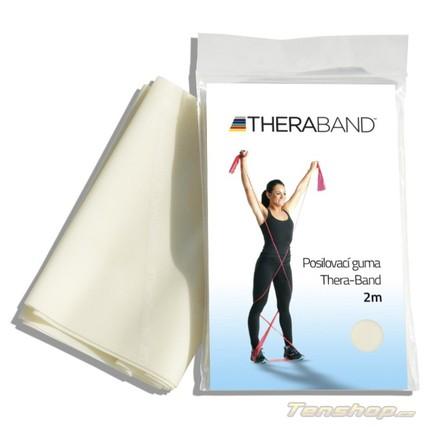 Posilovací guma Thera-band 2 m, velmi slabá, béžová