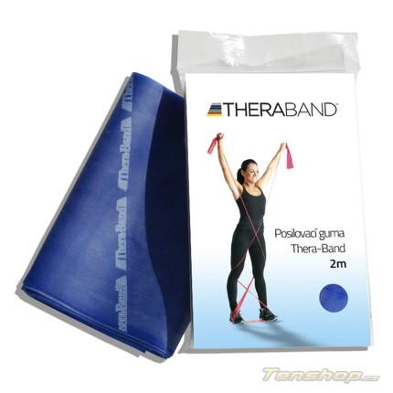 Posilovací guma Thera-band 2 m, extra silná, modrá