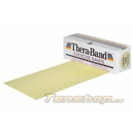 Posilovací guma Thera-band 5.5 m, velmi slabá, béžová