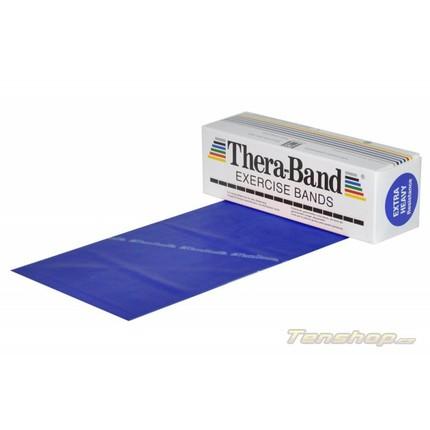 Posilovací guma Thera-band 5.5 m, extra silná, modrá