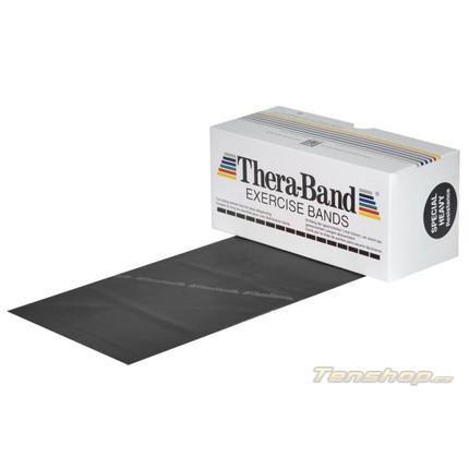 Posilovací guma Thera-band 5.5 m, speciálně silná, černá