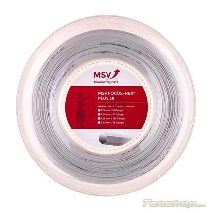 Tenisový výplet MSV Focus Hex Plus 38, white