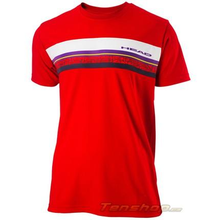 Dětské tenisové tričko Head T-Shirt Sight jr. RDPU 2013