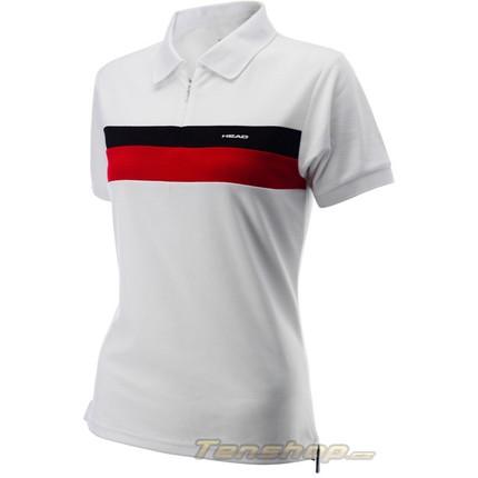 Dětské tenisové tričko Head Poloshirt zip Sterry jr.