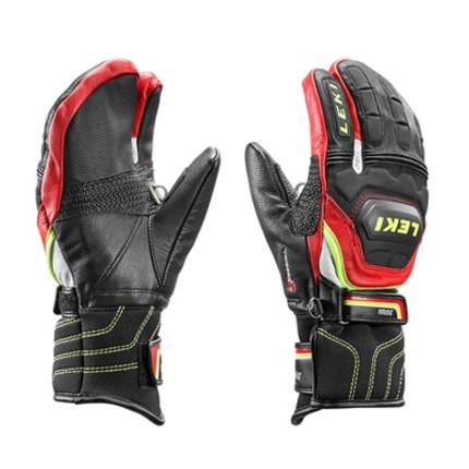 Dětské lyžařské rukavice Leki Worldcup Race Flex S Junior Lobster, 2016/17