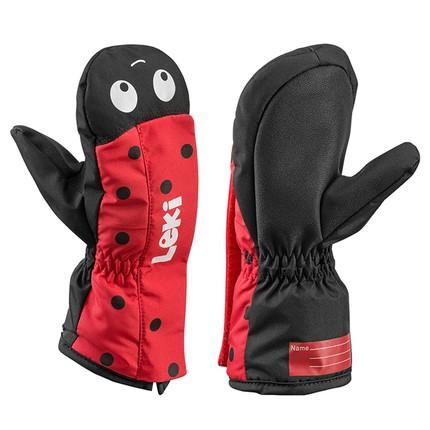 Dětské rukavice Leki Little Beetle Zap Mitt, red