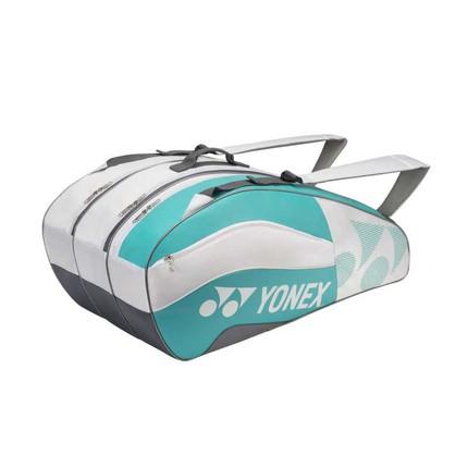 Taška na rakety Yonex 8529, white/aqua