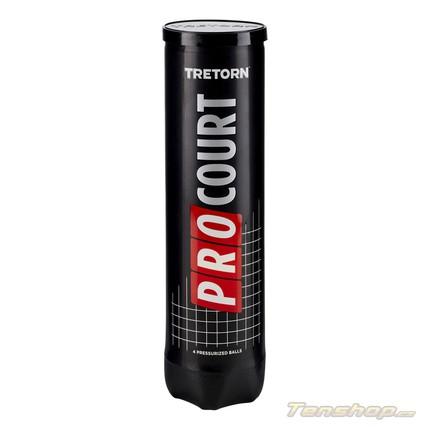 Tenisové míče Tretorn Pro Court, 4 ks
