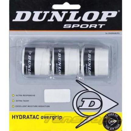 Omotávky Dunlop Hydratac Overgrip, white
