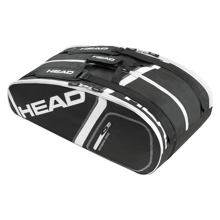 Tenisová taška Head Core 9R Supercombi, black
