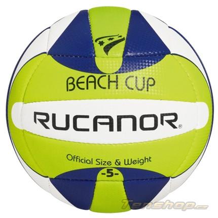 Beach volejbalový míč Rucanor Beach cup III gr/bl/wh