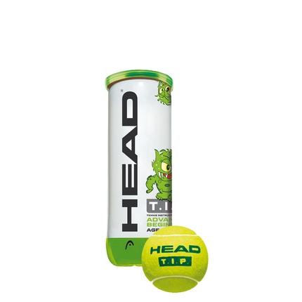 Dětské tréninkové míče Head T.I.P. green 3 ks