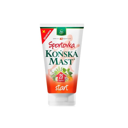 Tenis - Koňská mast Sportovka Start 150 ml