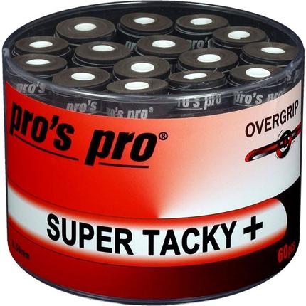 Omotávky Pros Pro Super Tacky+ 60 ks, black