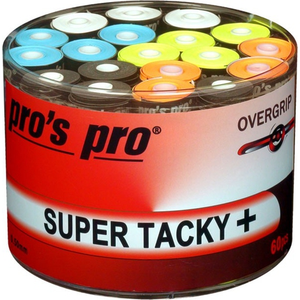 Omotávky Pros Pro Super Tacky+ 60 ks, mix