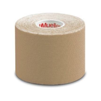 Fixační tejpovací páska Mueller MTape® 3,8 cm, béžová