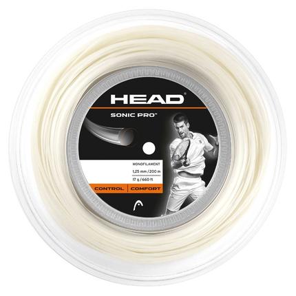 Tenisový výplet Head Sonic Pro 200m, 1.25 white
