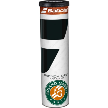 Tenisové míče Babolat French Open Clay, 4 ks