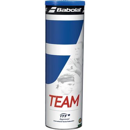 Tenisové míče Babolat Team, 4 ks