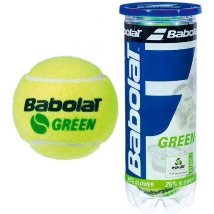 Dětské tréninkové míče Babolat Green, 3 ks