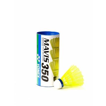 Badmintonové míče Yonex Mavis 350 yellow, 3 ks