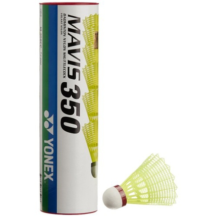 Badmintonové míče Yonex Mavis 350 red, 6 ks