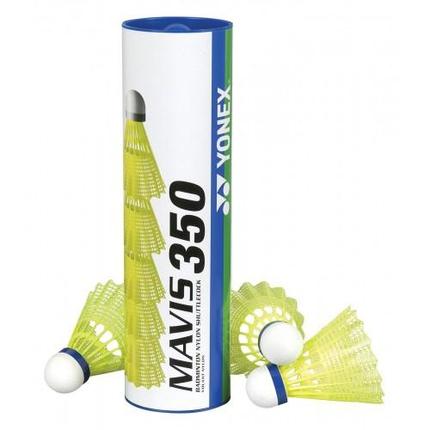 Badmintonové míče Yonex Mavis 350 yellow, 6 ks