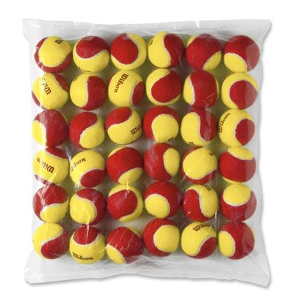 Dětské tréninkové míče Wilson Starter Red 36 ks