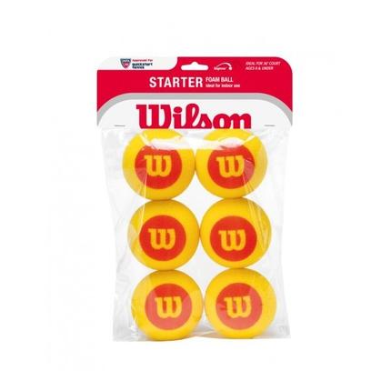 Dětské tréninkové míče Wilson Starter Foam 6ks