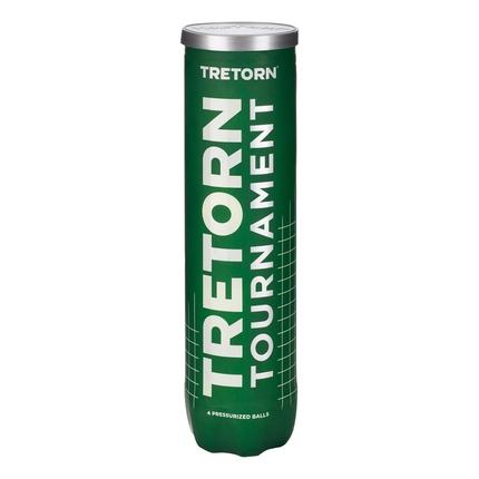 Tenisové míče Tretorn Tournament, 4 ks