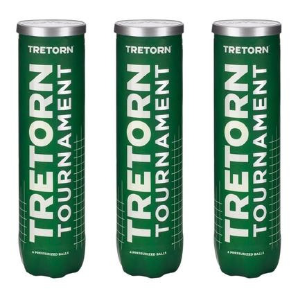 Tenisové míče Tretorn Tournament, 12 ks