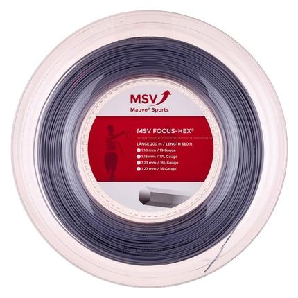 Tenisový výplet MSV Focus Hex 200m, silver