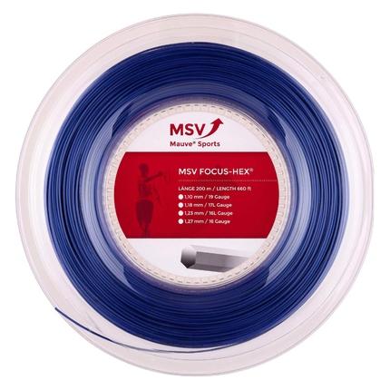 Tenisový výplet MSV Focus Hex 200m, blue