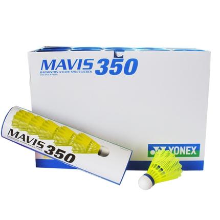 Badmintonové míče Yonex Mavis 350 yellow, 60 ks