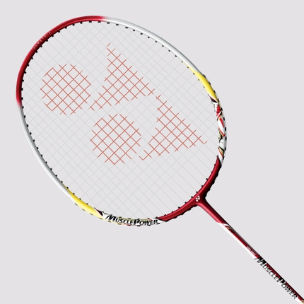Badmintonová raketa Yonex Muscle Power 5, red/silver