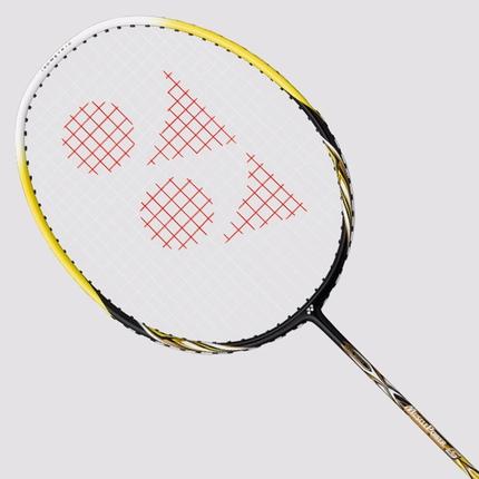 Badmintonová raketa Yonex Muscle Power 5, black/yellow