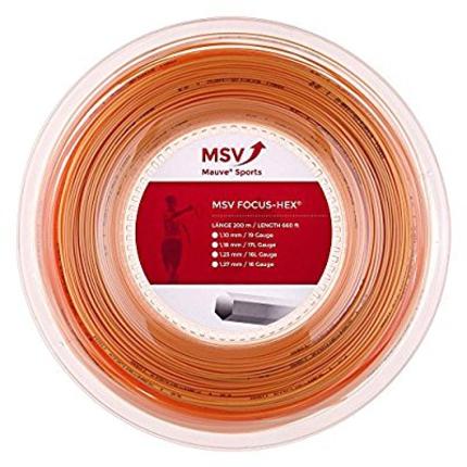 Tenisový výplet MSV Focus Hex 200m, gold