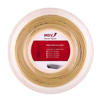 Tenisový výplet MSV Focus Hex 200m, natural