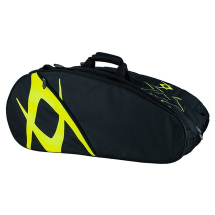 Tenisová taška Vőlkl Team Combi Bag, black/neon yellow