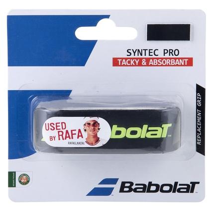 Základní grip Babolat Syntec Pro, black/yellow