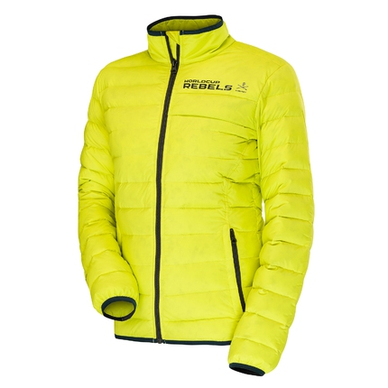 Pánská péřová bunda Head Race Team Insulated Jacket, yellow