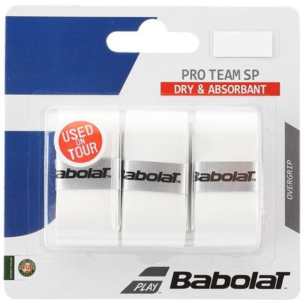 Omotávky Babolat Pro Team SP X3, white