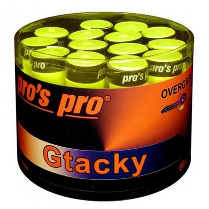 Omotávky Pros Pro G Tacky 60 ks, yellow